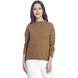 Vero Moda Women's Cotton Sweater (10162313_Kangaroo_XS)