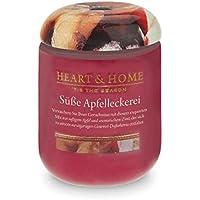 Heart & Home Duftkerze Groß - Süße Apfelleckerei- 340 g preisvergleich bei billige-tabletten.eu