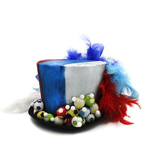 Z.L.F Mini Top Hat für Frauen Mad Tea Party Hut (Farbe : Weiß, Größe : ()