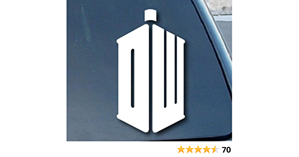 Aufkleber Autoaufkleber Sticker Decal Doctor Who Dw Car Window Vinyl Decal Sticker 127mm Tall Color White Auto