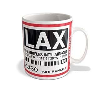 Mug A380 Air France (Air France - Los Angeles LAX - AF066)