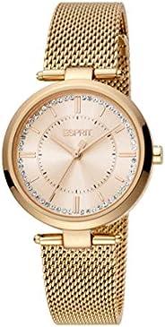 ESPRIT Women's Fashion Quartz Watch - ES1L251M0065; Rose