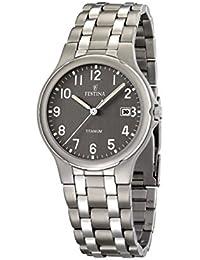 FESTINA F16460/2 - Reloj de caballero de cuarzo, correa de titanio