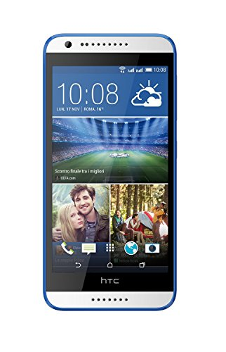 "HTC 99HADC033-00 - Smartphone de 5"" (1280 x 720 píxeles, 1.7 GHz, 1024 MB, 8 GB, MicroSD), color azul y blanco"