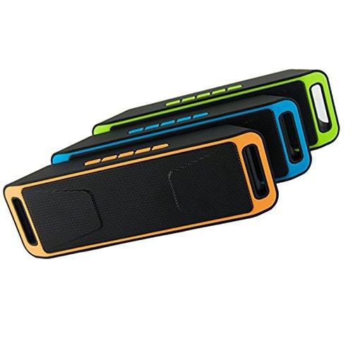 JSGJYX Bluetooth Lautsprecher 1 PSC Portable Wireless Speaker Stereo Bluetooth Empfänger mit Mikrofon HiFi Altoparlante Unterstützung FM Radio TF-Karte Lautsprecher