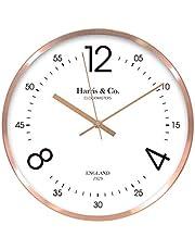 Harris & Co. Clockmasters Analog Wall Clock 12 In