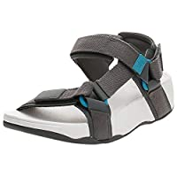 FitFlop Men's Ryker Webbing Sandals, Deep Grey, 43 EU