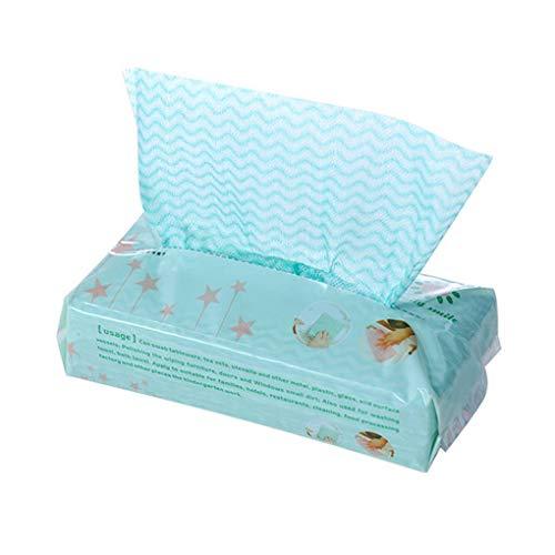 Busirde Einweg-Dish Washing Handtücher Non-Woven-Küche sauber Wipes Dishcloth Rags wasserabsorbierende