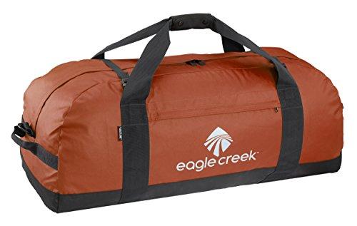 Eagle Creek No Matter What Duffel Ultraleichte Sporttasche Reisetasche strapazierfähig und wasserresistent, 91 cm, 133 l, rot Clay