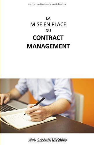La mise en place du Contract Management PDF Books