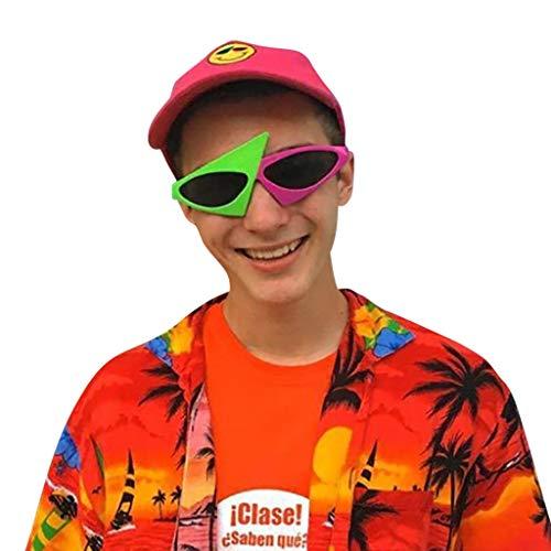Honestyi Lustige verrückte Kostüm Brille Neuheit Party Sonnenbrillen Zubehör Hen Bade, um lustige Partybrillen zu sein