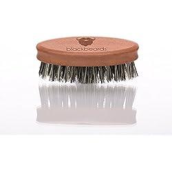 blackbeards vegane Bartbürste – Die feine und 100% vegane Bartbürste – Zur täglichen Bartpflege– Für den Vollbart und Drei-Tage-Bart – Hochwertig verarbeitet.