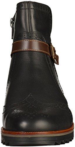 Remonte D0178, Bottes Chelsea Femme Noir