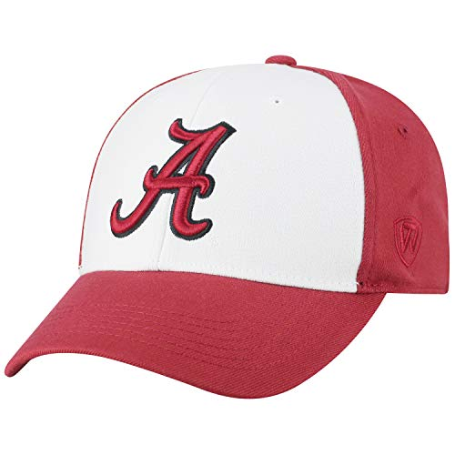 Top of the World ncaa-premium Collection Zwei tone-one-fit-memory fit-hat Gap, Herren, Alabama Crimson Tide High-school-baseball-hüte