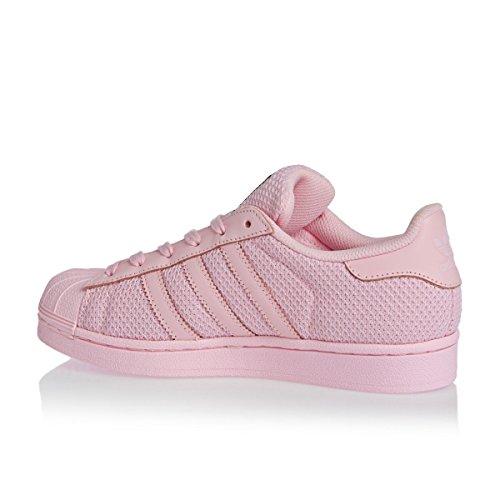 adidas Superstar J S76623, Scarpe sportive Rose