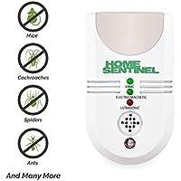 ASPECTEK Original Repelente Ultrasonico Antiplagas contra Insectos, arañas y roedores AHUYENTADOR DE Ratones Y Ratas (1 Piezas)