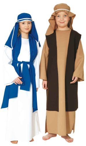Heilige Jungfrau Maria Kinder Kostüm zu Weihnachten (Heilige Kostüme Maria)