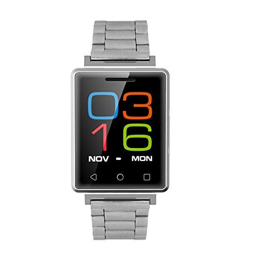 Orologio Braccialetto Bracciale / Orologio Intelligente Impermeabile - Fitness Tracker Fascia Cardio Smartwatch Bluetooth Call Shock Reminder & Promemoria Sedentaria - Argento REG7