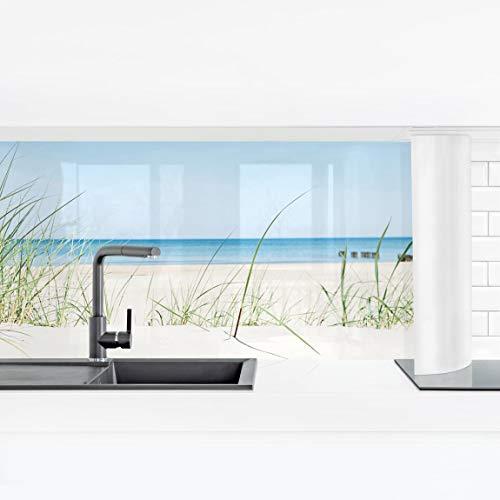 Bilderwelten Küchenrückwand Panorama Folie selbstklebend - Ostseeküste Premium 60 x 210 cm