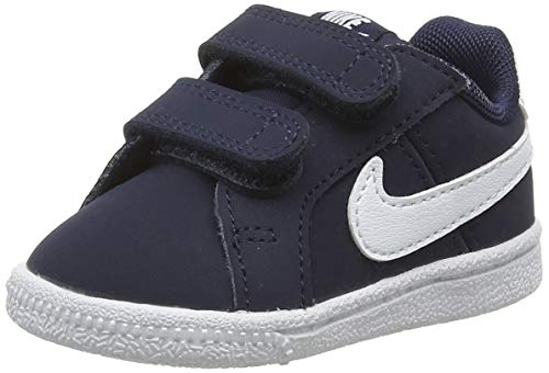 new products 3814b a425e Nike Court Royale (TDV), Chaussures Mixte Enfant, Bleu (Obsidian White