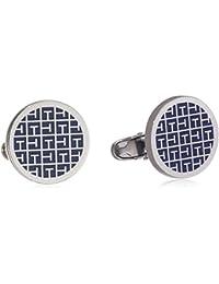 Tommy Hilfiger Jewelry Herren-Manschettenknöpfe Edelstahl Emaille blau - 2700778