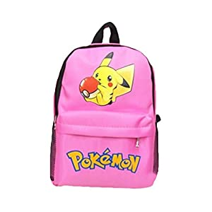 41j3ic 3IAL. SS300  - Pokemon Mochila para niños, Adolescentes niñas 3D Cartoon Pikachu Kindergarten School Bags Kids Cute Pokeball Nursery…
