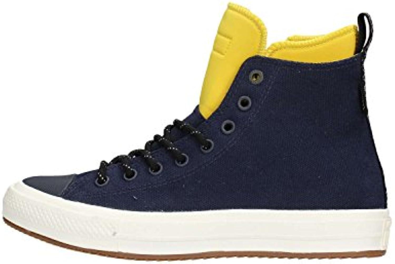 Converse Herren Sneaker 153569C II Boot Hi Schuhe in Navy/Bitter Lemon