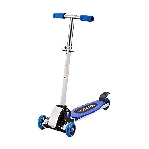 Scooter für Kinder, Kickboard, Tretroller, Klappbarer Roller, Leicht verstaubar, Vierrad, Neu