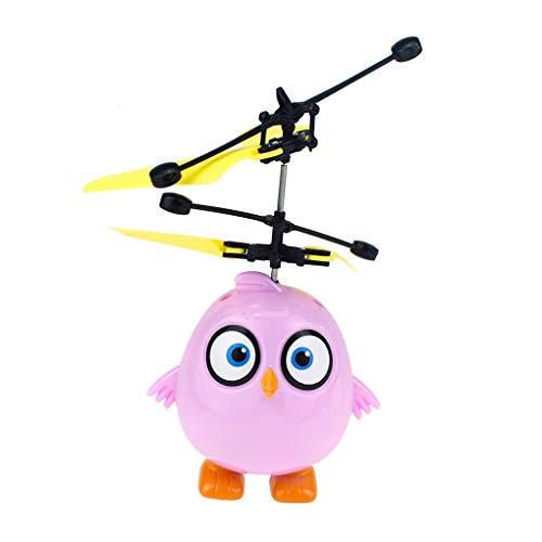 Vkospy Hubschrauber Induction Flugzeug Vogel Plastikgeschenk Wiederaufladbare Hubschrauber Kinder Elektro-Hubschrauber