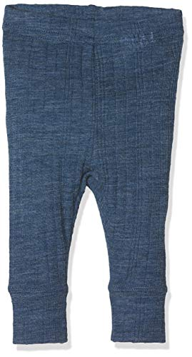 NAME IT Baby-Jungen Leggings NBMWANG Wool Needle LONGJOHN NOOS, Blau (Ensign Blue), 56