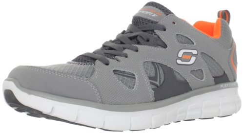 Skechers SynergyGridiron Herren Sneakers Grau (Gyor)