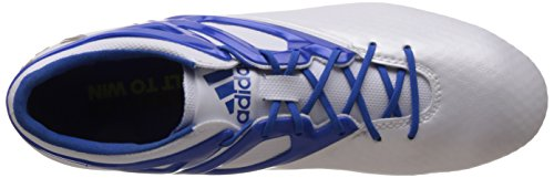 adidas Messi15.1 Fg/Ag, Chaussures de Football Compétition homme Weiß (Ftwr White/Prime Blue S12/Core Black)