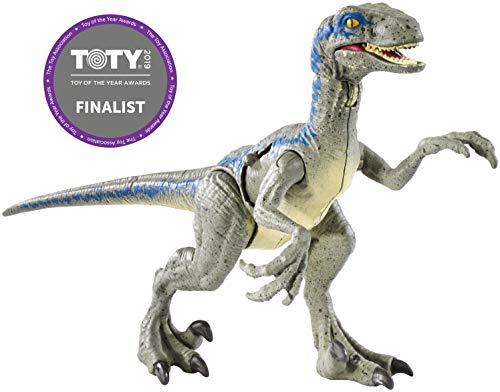 Jurassic World Velociraptor Blue, Dinosaurio de Juguete...