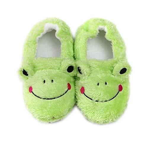 Kids Boys Girls Slippers Cartoon Panda Girls Home Shoes for Children Winter Boys Indoor Bedroom Slippers Warm Velvet Baby Boots