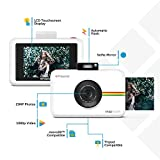 Polaroid Snap Touch 2.0 – Fotocamera digitale istantanea portatile da 13 MP, con Bluetooth integrato, display LCD touchscreen, video 1080p, tecnologia Zink Zero Ink e una nuova app, bianco