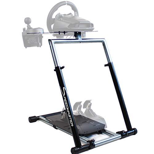 SPEEDMASTER ® Wheelstand - Lenkrad Halterung Massiv inkl. Gangschaltungshalterung - Wheel Stand - Schwarz - Logitech G29 G920 G25 G27, Thrustmaster T500 , Fanatec Elite Clubsport
