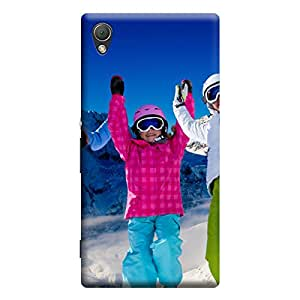 Ebby Premium Printed Back Case Cover With Full protection For Sony Xperia Z3 (Designer Case)