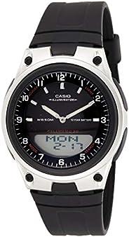 ساعة كاسيو فورستير للرجال شاشة انالوغ/رقمية سوار مطاطي - AW80-1AV
