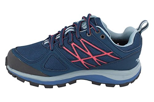The North Face W Litewave Gtx, Sneakers trail-running femme Multicolore - Azul / Rosa