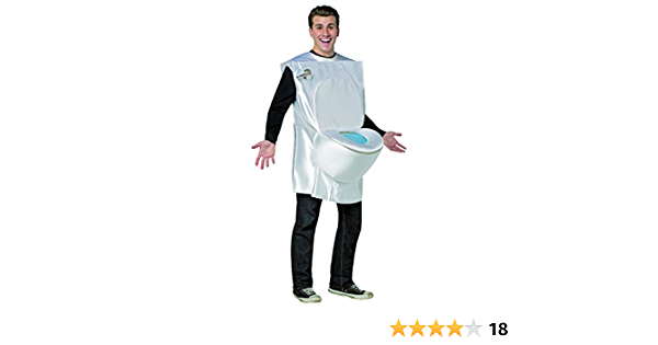 Adult Toilet Roll Novelty Stag Night Funny Fancy Dress Costume