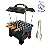 "Avani MetroBuzz Electric & Charcoal Barbeque (2 in 1 BBQ)""Multi Purpose"" Black"
