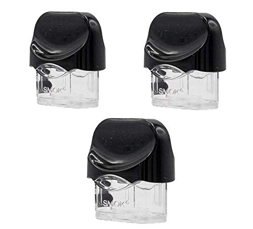 SMOK NORD Replacement Empty Pods (No Coils) Cartridge Tank - 3 Pack