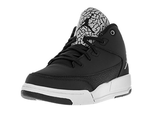 Nike Jordan Flight Origin 3 Bp, Scarpe da Basket Bambino, Nero (Black / Metallic Silver-Pure Platinum), 30 EU