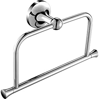 Aquatrend 5280 Bathroom Accessory Decor Chrome Finish Towel Ring WALL HANGING