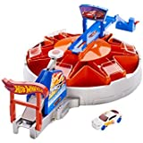 Hot Wheels fast blast car park/garage stop and go play set