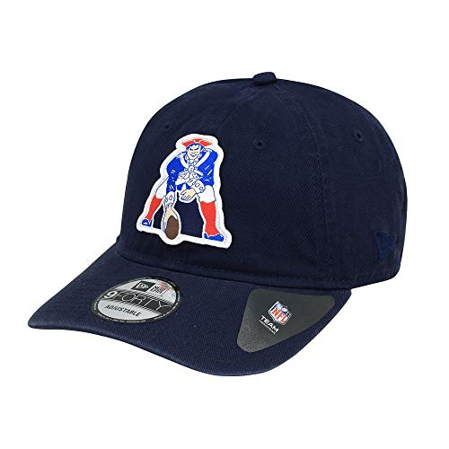 New Era New England Patriots Classic Patch Adjustable NFL Cap Navy