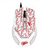 sw q-21 USB-Gaming-Maus 2000dpi Leucht , White