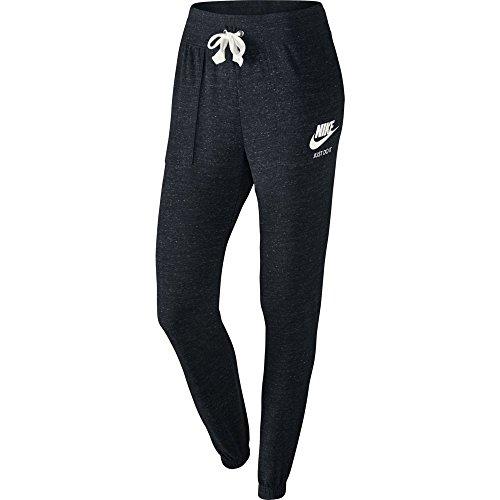Nike Damen Jogginghose Gym Vintage, Schwarz (Black/Sail), M, 726061-010