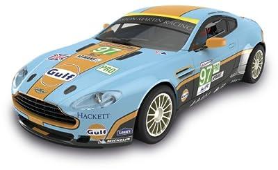 "Scalextric Original - Aston Martin Vantage ""Gulf"" - coche slot analógico (A10116S300) de Fábrica de Juguetes"