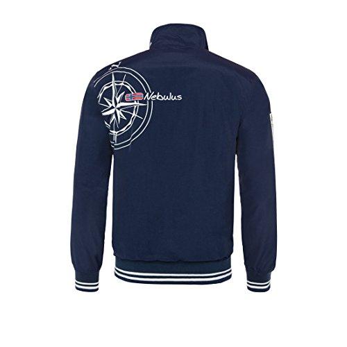 T178 - NEBULUS Giacca da vela CAPO NORD, giacca Uomo, blu marino